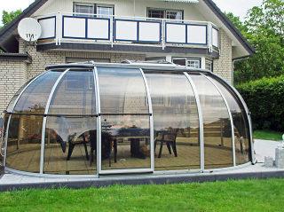 Ideales verschiebbares Gartenzimmer SPA SUNHOUSE® von ALUKOV