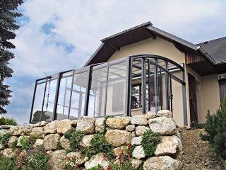 Massgefertigter Kalt-Wintergarten CORSO Premium von ALUKOV Deutschland