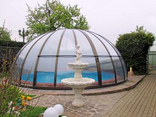 Pool-, Spa- oder Terrassenüberdachung ORIENT von ALUKOV