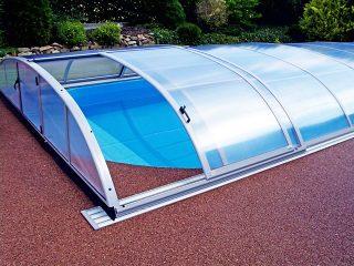 Poolüberdachung Azure Flat (7)