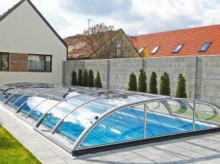 Poolüberdachung Azure Flat Kompakt (1)