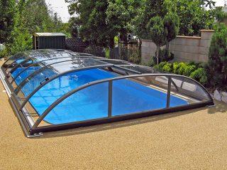 Poolüberdachung Azure Flat Kompakt (10)