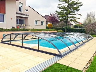 Poolüberdachung Azure Flat Kompakt (2)
