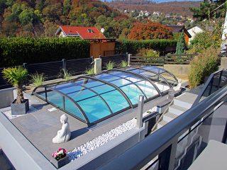 Poolüberdachung Azure Flat Kompakt (8)