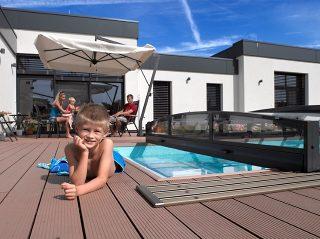 Poolüberdachung VIVA für die ganze Familie