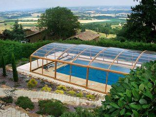 Elegante Variante für Überdachen Ihres Pools finden Sie bei Alukov