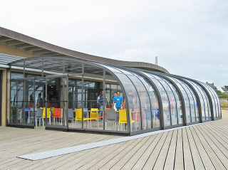 mobile Terrassenüberdachung - Style