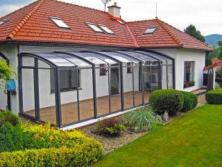 Schiebeüberdachung CORSO Premium von ALUKOV Deutschland