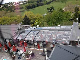 Schiebeüberdachung für Ihren Gastgarten oder Terrasse von ALUKOV