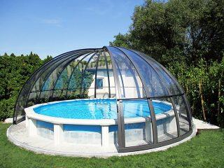Schwimmbadüberdachung Orient