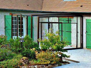 Mobile Terrassenüberdachung CORSO Glass