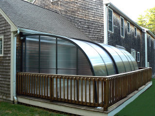 Terrassenüberdachung CORSO Entry - Einladung zu terrassse