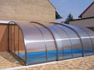 Terrassenüberdachung CORSO Entry - Einladung zu terrassse - Anthrazit farbton