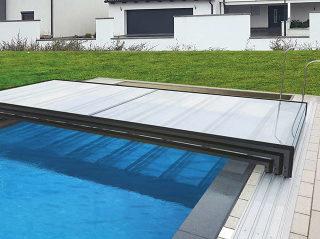 Ultraniedrige Überdachung Ihres Pools