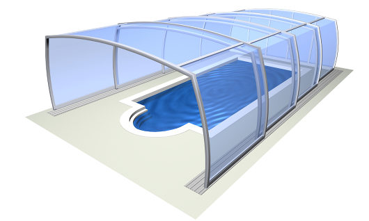 Abri de piscine Omega™