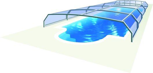 Abri de piscine Riviera