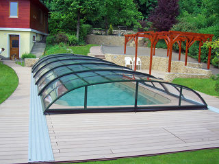 Abri de piscine ELEGANT par Alukov