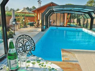 Abride piscine spacieux à glissières OCEANIC