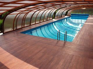 Abri de piscine STYLE par Alukov