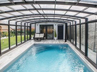 Abri de piscine haut Vision
