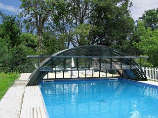 Abri haut de piscine modele UNIVERSE NEO