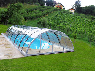 Abri de piscine UNIVERSE conservera l