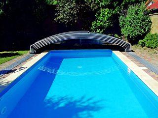 L'abri de piscine entièrement ouverte IMPERIA NEO LIGHT