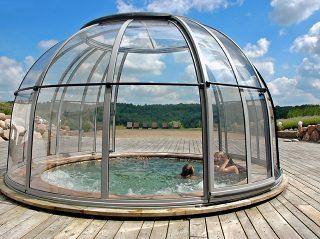 L'abri de spa dôme ORLANDO