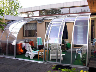 Innovation - Abri de terrasse retractable CORSO Entry