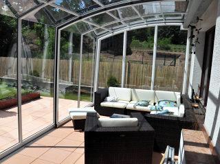 Cloisons de patio meublé CORSO par Alukov UK