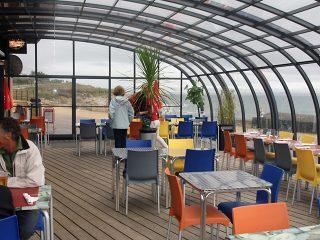 Abri de patio CORSO Horeca - pour hôtels et restaurants