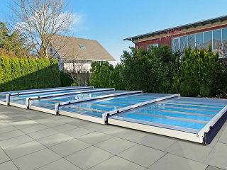 Terra - labri de piscine - silver