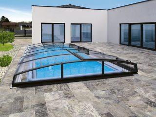 AZURE Angle bazenski krov može biti ne samo funkcionalni već i dizajnerski element