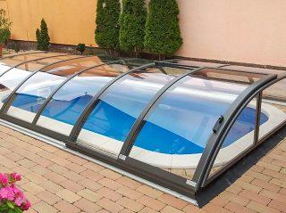 Bazenski krov AZURE Flat Compact (4)
