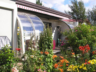 Patio Enclosure CORSO Entry - spacious conservatory for you relaxation