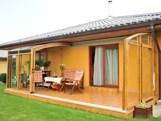 Openable terrace enclosure CORSO by Alukov