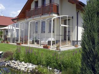 Retractable patio cover CORSO Solid by Alukov 20