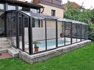 Retractable patio cover CORSO Solid by Alukov 31