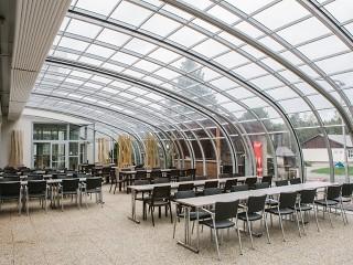 Patio enclosure for Horeca