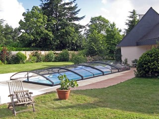 Inground pool cover IMPERIA NEO light