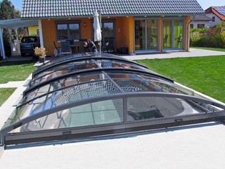 Pool cover IMPERIA NEO light made by Alukov a.s.