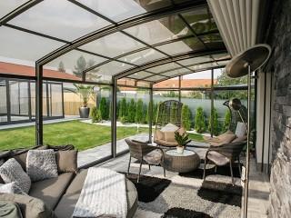 View into patio enclosure Corso Premium