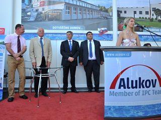 Az új cseh ALUKOV gyáregység nyitóbeszéde