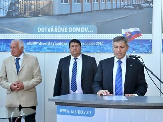 Jan Zitko, ALUKOV a.s. vezérigazgató beszéde az új gyáregység megnyitóján