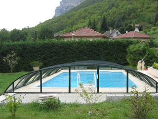 eltolható ELEGANT NEO  medencefedés legjobb védelem medencéjének
