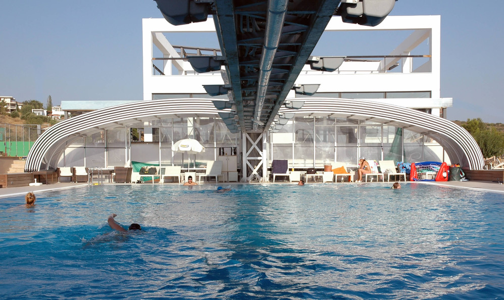 AZZURRE coperture telescopiche per piscine