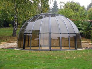 cupola Orlando sita in angolo del vostro giardino occupa poco spazio
