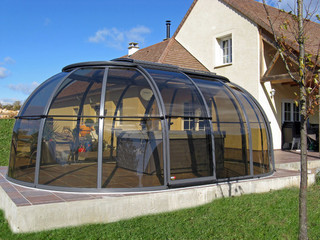 Copertura SunHouse trasparente