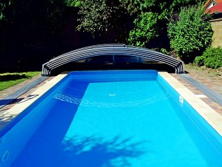 Completamente aperta copertura per piscine Imperia NEO light