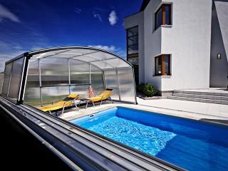 Coperture per piscine Venezia in colore argento